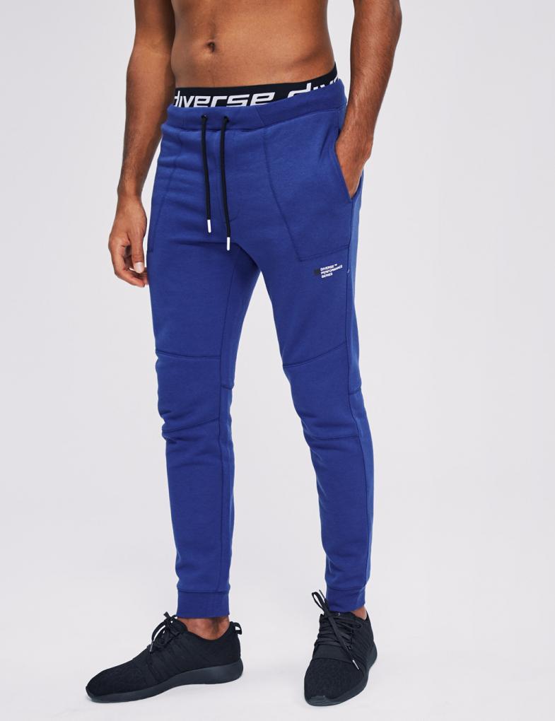a9834e2209e85 Spodnie dresowe męskie bawełniane ze ściągaczami - sklep internetowy ...