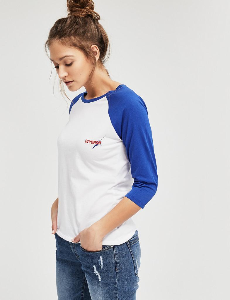 3b4cce32b Bluzki i koszulki damskie z długim rękawem, nadrukiem, napisami ...