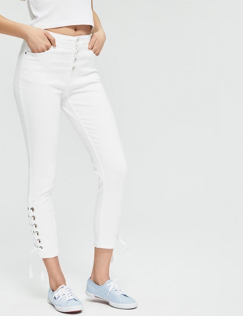 0389db79 Spodnie jeansowe damskie - joggery, boyfriendy, z wysokim stanem ...