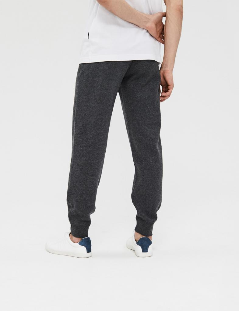 2960d0e37 Spodnie dresowe męskie bawełniane ze ściągaczami - sklep internetowy ...