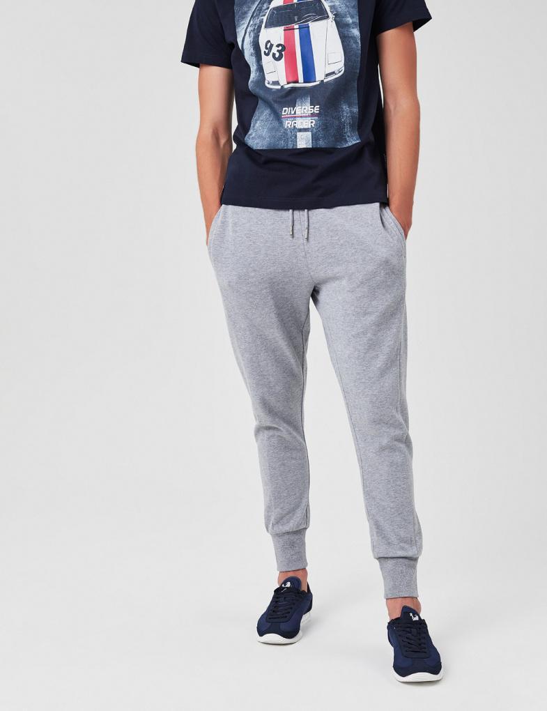 f402fec8 Spodnie dresowe męskie bawełniane ze ściągaczami - sklep internetowy ...