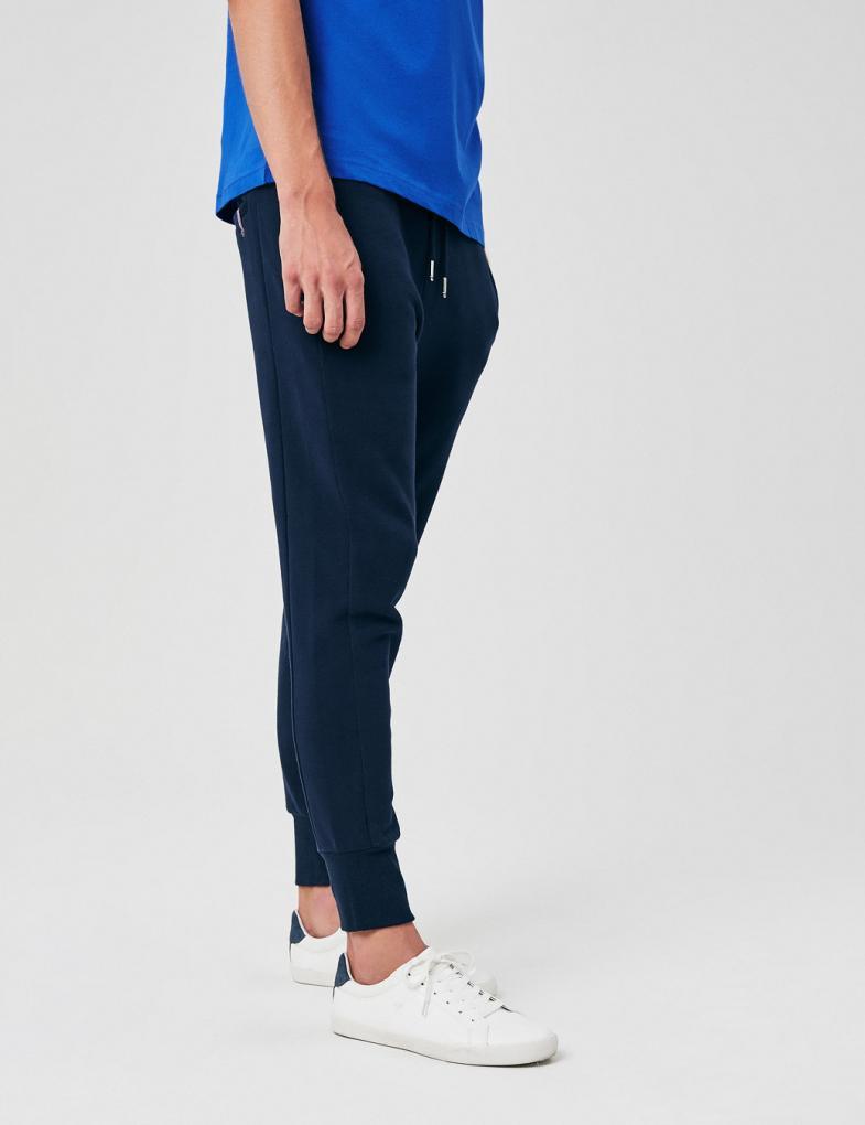 5c83150d6 Spodnie dresowe męskie bawełniane ze ściągaczami - sklep internetowy ...