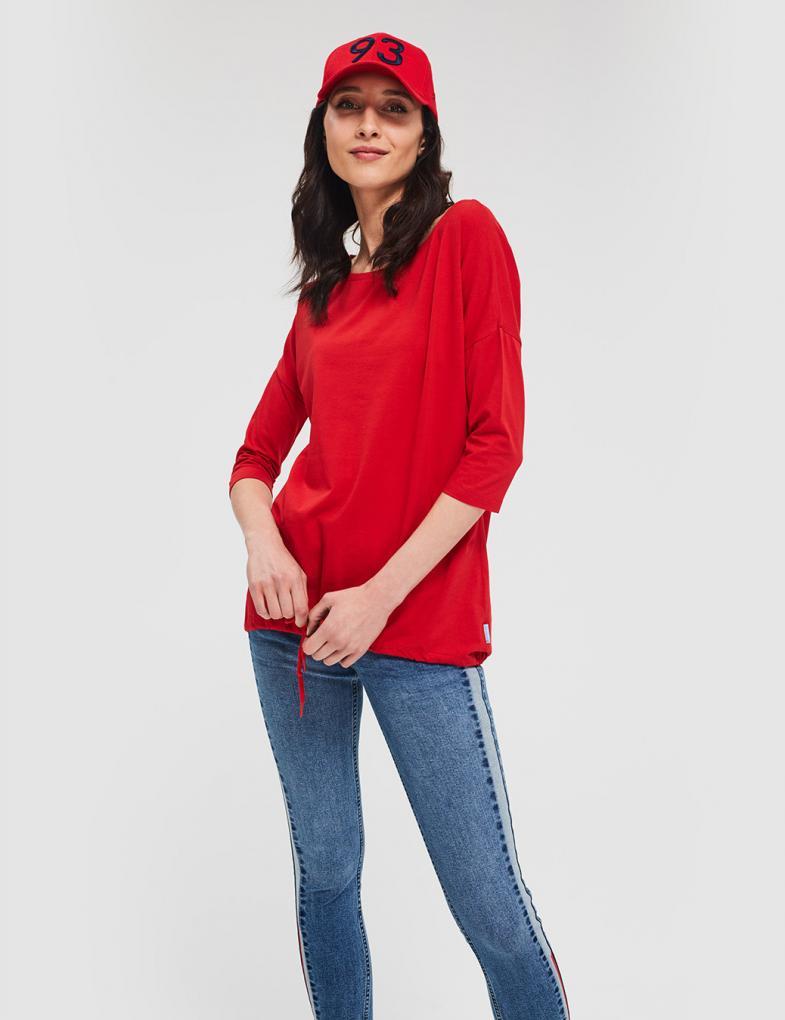 c50b1257f Bluzki i koszulki damskie z długim rękawem, nadrukiem, napisami ...