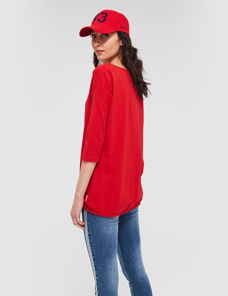 99e0842a Bluzki i koszulki damskie z długim rękawem, nadrukiem, napisami ...