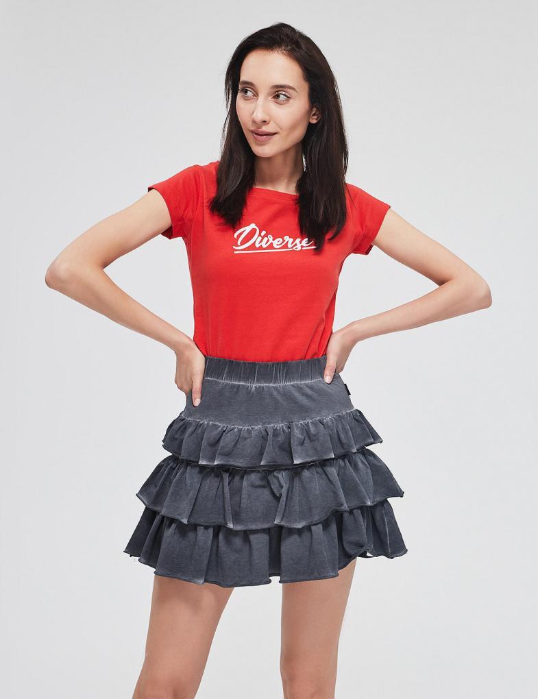 4f644bec Koszulki i t-shirty damskie, bawełniane, z napisami - sklep ...