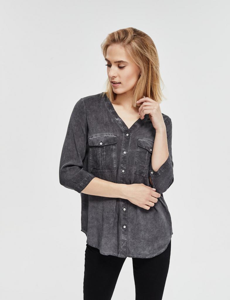6730fdfac4cbdb Koszule damskie: jeansowe, w kratę, flanelowe, moro - sklep ...