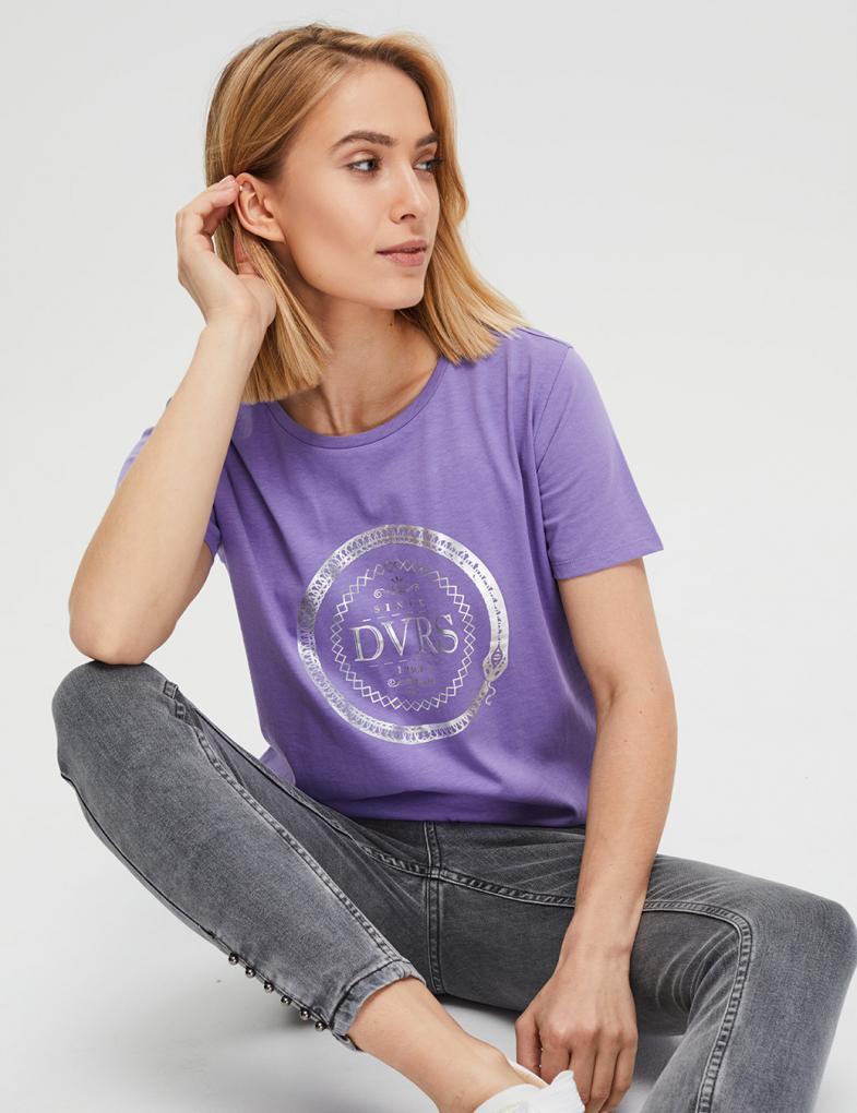 fe60670b7e5a98 Koszulki i t-shirty damskie, bawełniane, z napisami - sklep ...