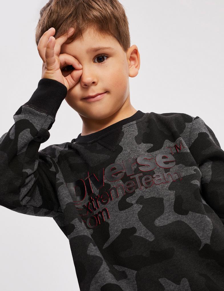 Bluza DEXT KIDZ CAMO CREW
