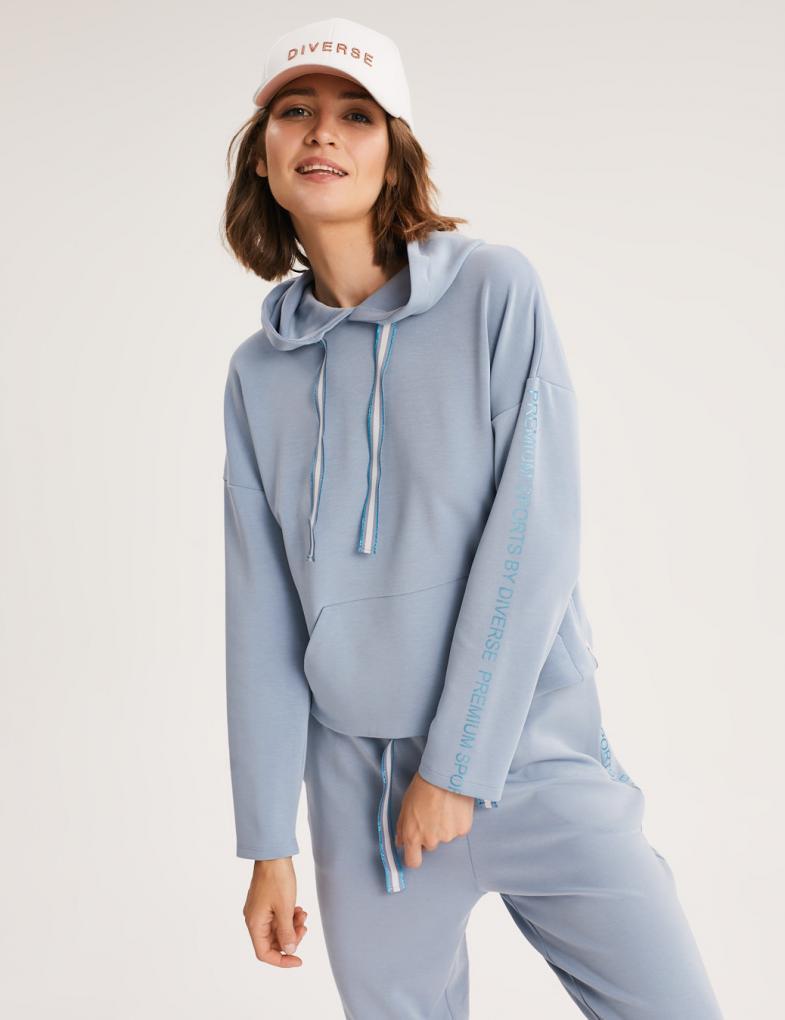 Bluzy damskie z i bez kaptura, sportowe, dresowe